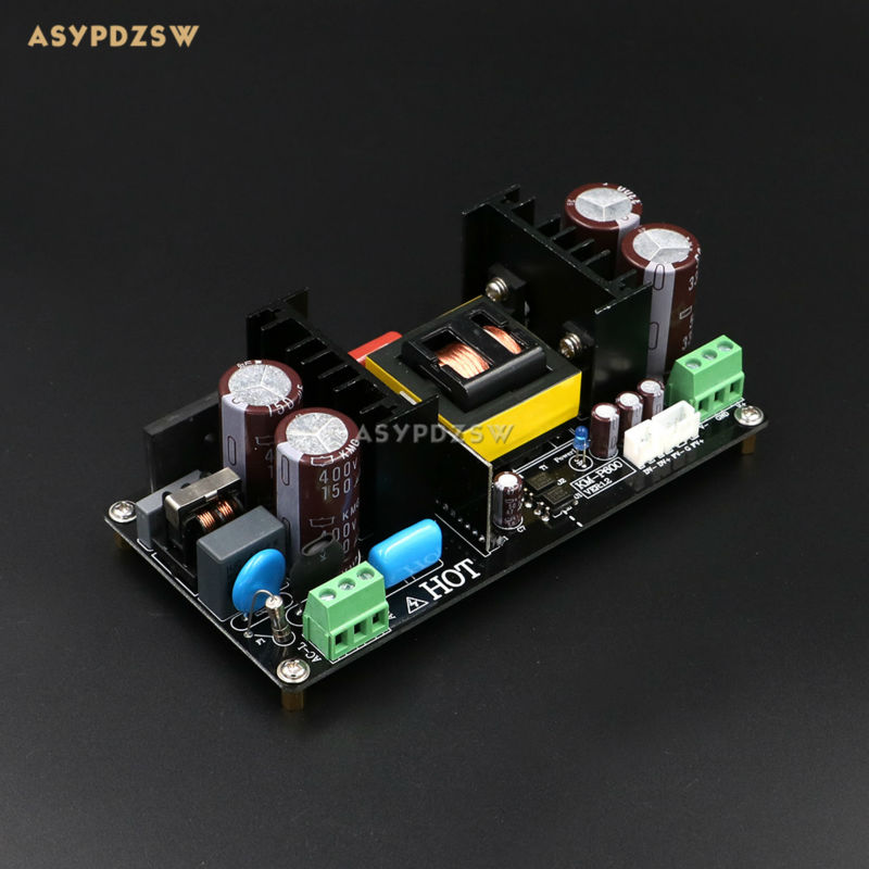 KM-P600 High Power digital amplifier switching power supply Dual +/-48V regulator 600W SMPS board for IRS2092 Power amplifier tas5630 amplifier class d board high power finished boards mono 600w for subwoofer or full range diy free shipping