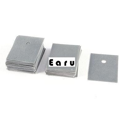 TO-3P Transistor 26mmx20mmx0.3mm Insulation Pad Sheet Silicone Insulator 50 Pcs k1359 2sk1359 to 3p