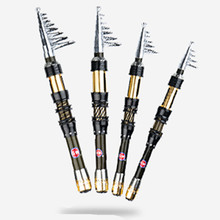 Ultra short section mini sea otter fishing rod carbon small sandpiper throwing rod hard fishing pole rede de pecase outdoor tool long section carbon rod small ring fishing rod 8 9 10 11 12meters fishing rod carbon super hard sea pole rod set