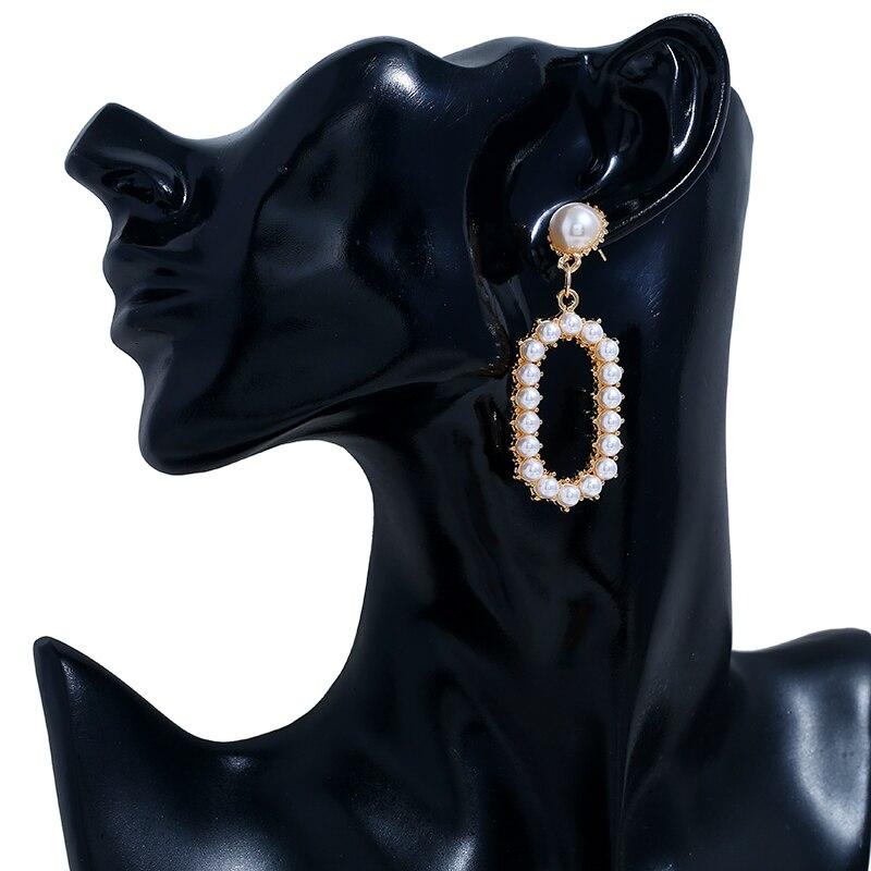 Pearl Dangle Earrings (6)