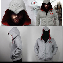 New Arrival Fashion Men Hoodie Spring Autumn Assassins Creed Hoodie Sweatshirt Men High Quality Cotton Drake