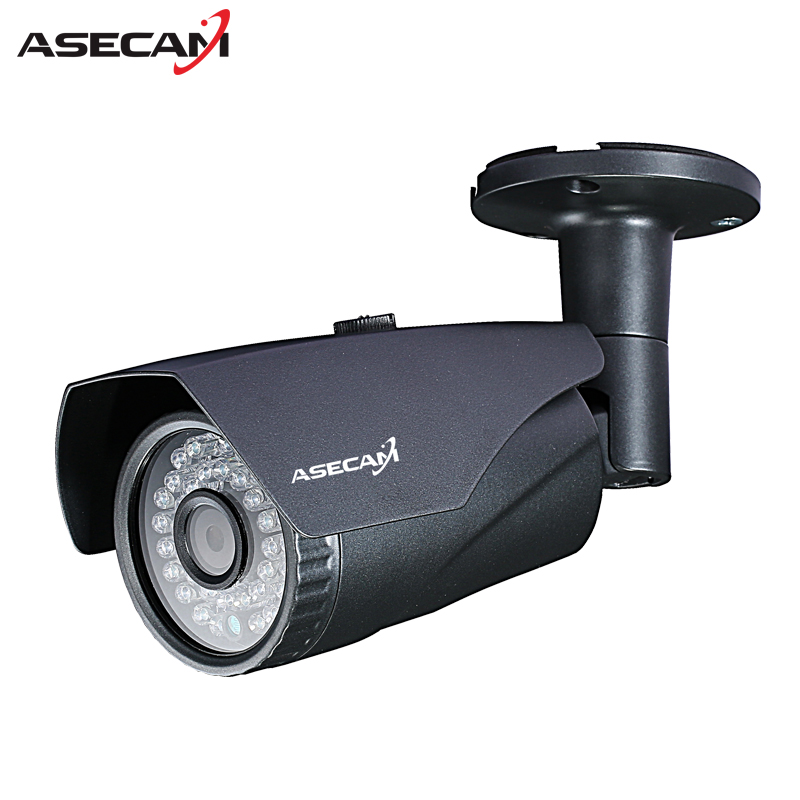 New full 1080P IP Camera Onvif Surveillance Security 2.0MP 48V POE CCTV infrared Bullet Metal Gray Waterproof Outdoor webcam Cam jienuo ip camera 960p outdoor surveillance infrared cctv security system webcam waterproof video cam home p2p onvif 1280 960