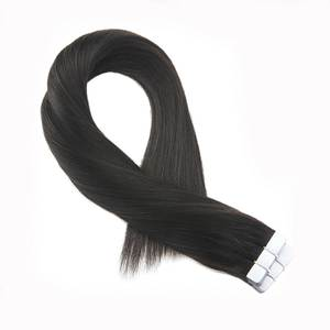 Moresoo Hair Extensions Real Remy Human Hair Tape in 20PCS
