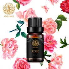 100% Pure Peppermint Rose Essential Oil Natural Plant Therapy Lymphatic Detox Oil Natural Anti-Aging Body Massage Oil 10ml недорого
