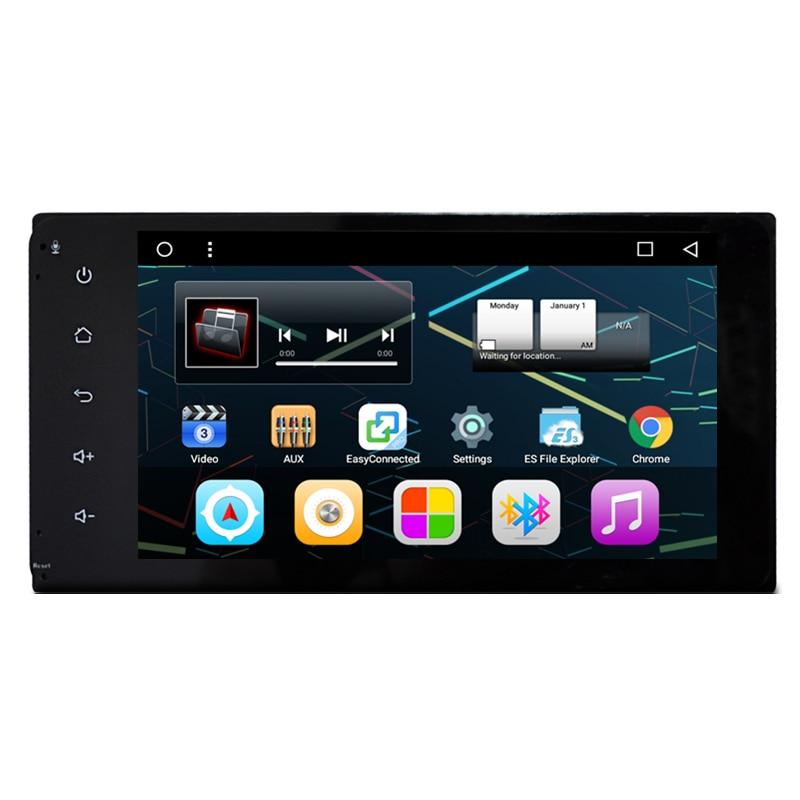 7 Quad Core Android Car Stereo Audio Head Unit Headunit Autoradio for Toyota Hilux Camry Corolla