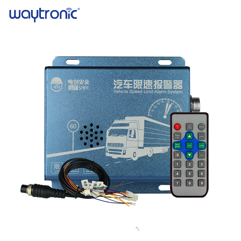Vehicle Speed Limiter Diesel Electric Truck Bus Speeding Warning Alarm System LED Speed Display for Special Vehicles digital display motor speed watch strap speeding alarm electronic tachometer sensor measurement speed
