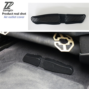 ZD 2pcs For AUDI A4 B8 S4 RS4 Audi A3 8V car seat air conditioner air outlet protective cover sticker
