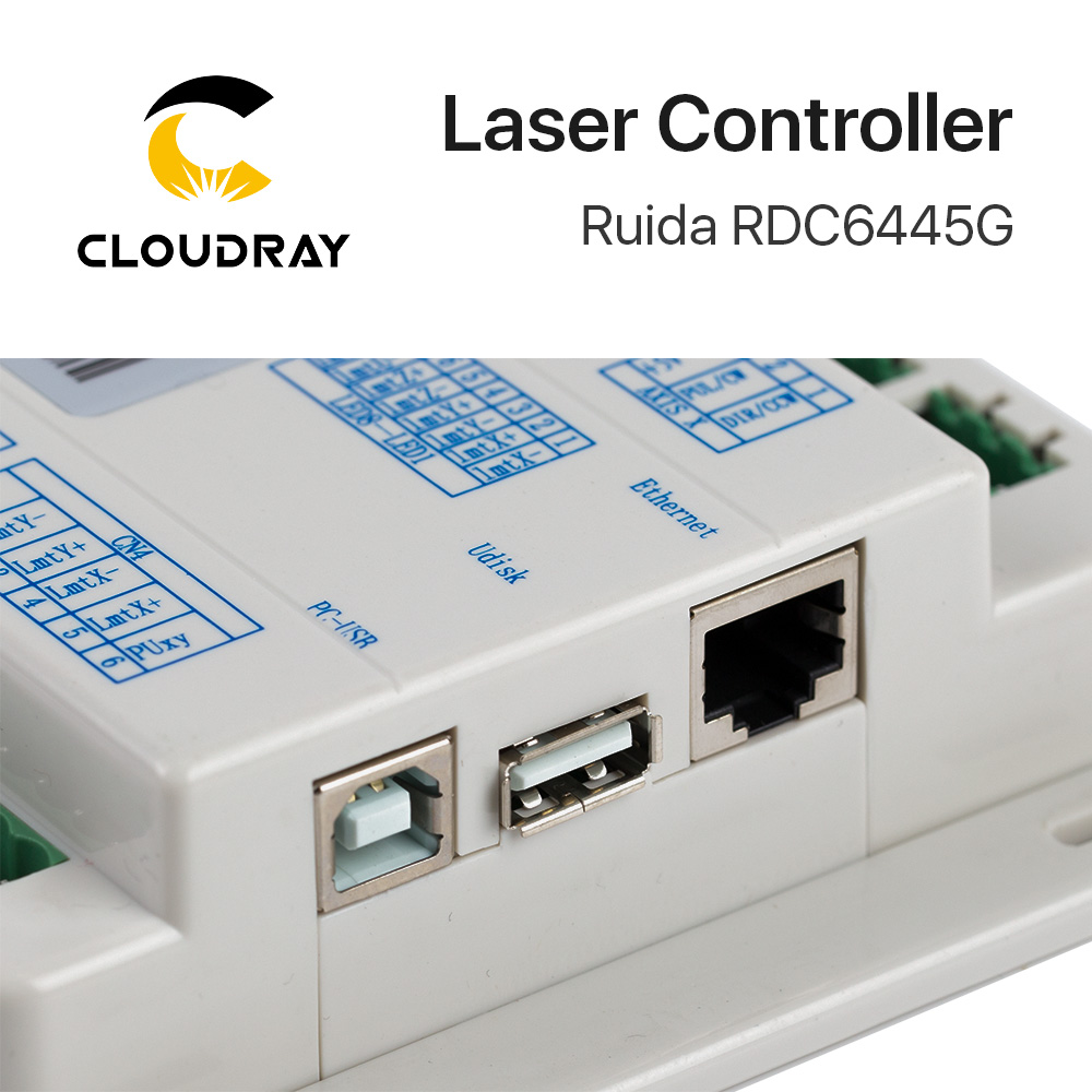 Ruida RDC6445 RDC6445G kontroller Co2 lasergraveerimisega - Puidutöötlemismasinate varuosad - Foto 3