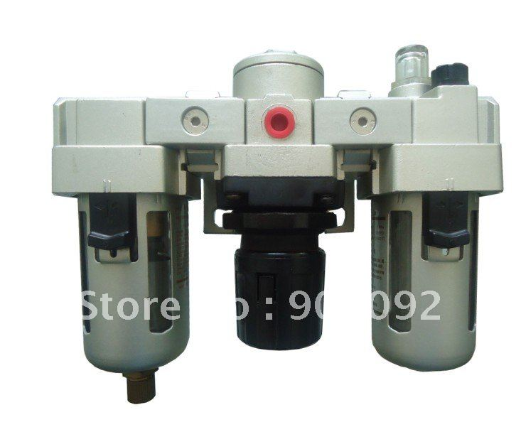 Free Shipping 10pcs A Lot 1/4'' AC Series SMC Type Air Filter Regulator Lubricator Combinations Model AC3000-02