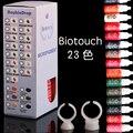 YILONG Microblading Biotouch 23 Colores Juego de Tintas de Tatuaje Permanente Del Maquillaje 15 ml Pigmentos Cosméticos de Color Tinta De la Ceja Del Tatuaje Del Cuerpo