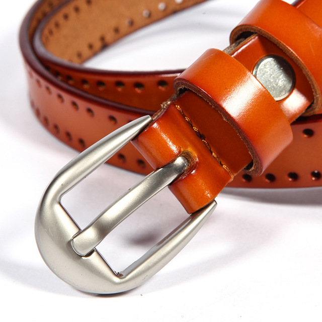 COWATHER New Vintage style women belts cow genuine leather high grade quality