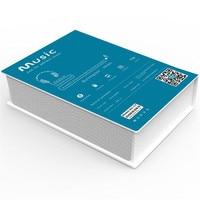 Cyboris Patent Super Bass Hifi Stereo Book Shape Design Wireless Portable Bluetooth Speaker With 5V 1