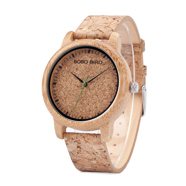 BOBO BIRD M12 Bamboo Wood Quartz Watch For Men And Women Wristwatches Top Brand Luxury With Japan Movement As Gift 1