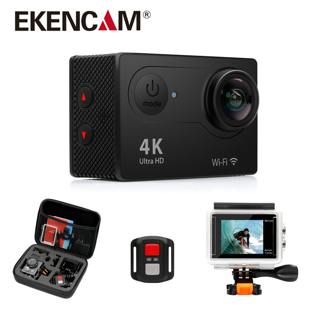 цена на Traditional h9 H9R Camera 4K@25fps Ultra HD 30m waterproof 2 inches LCD Screen Wi-Fi Remote 12MP 170D Wide Angle Sports Camera