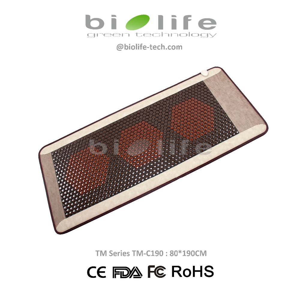 Ceratonic Thermique Thérapie Infrarouge Corée Tourmaline En Céramique Pierre Matelas De Santé utilisation sur ceragem Massage lit similaires infrarouge