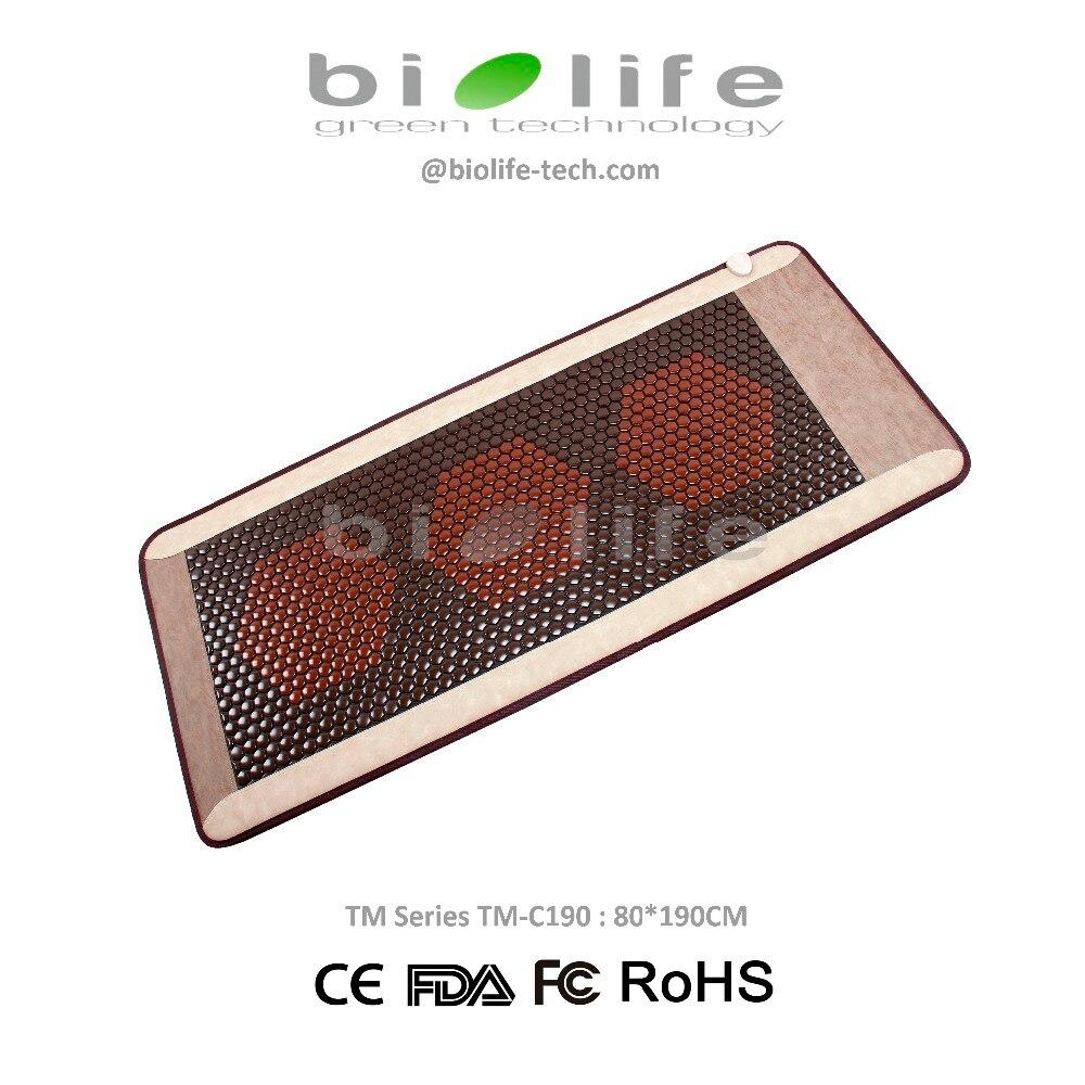 Ceratonic lit de massage Infrarouge ceragem similaire Thermique Thérapie Corée Tourmaline pierre de céramique Santé Matelas