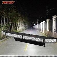 אוניברסלי 5D עדשת LED פגוש קדמי לוחית רישוי תצוגה רחבה קומבו אור עבור רכב SUV טרקטורונים איסוף 12/24V קורה גבוה פנס נורות