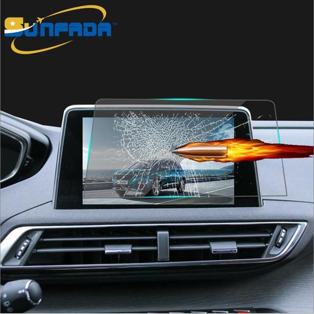 8inch car navigation tempered glass screen protector steel. Black Bedroom Furniture Sets. Home Design Ideas