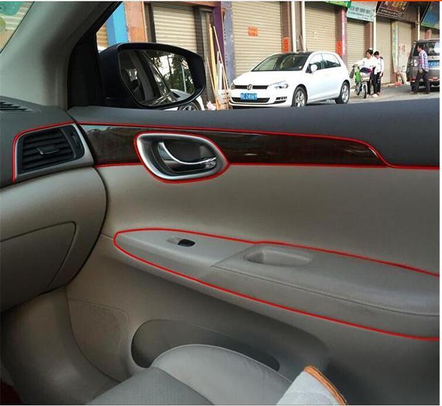 5m auto decoration sticker thread cute car interior decal decorate