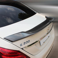 W213 Modified R Style Carbon Rear Trunk Spoiler Car Styling Tail Wing For Mercedes Benz W213 E200 E220 E250 E300 2016UP