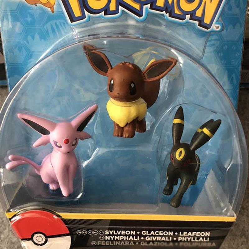 Image 4 - TAKARA TOMY POKEMON Cartoon Eevee Action & Toys Figure Model Collection Toys for Children Pokemon Figures Gifts-in Action & Toy Figures from Toys & Hobbies