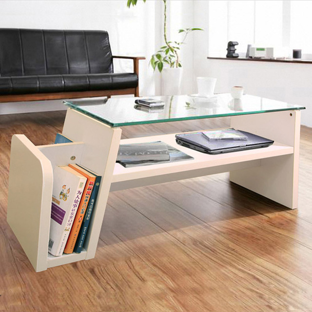 Square Glass Surface Of The Small Coffee Table Storage Coffee Table Book Of  Modern Garden Coffee