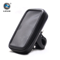 5 Bag For Bike Bicycle Motorcycle Waterproof Cell Phone Case Bag With Handlebar Mount Holder Stand