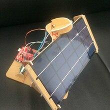Customize DIY Mini Solar Panel Tracker 2 Axis 6V 5W Electronics Power Controller