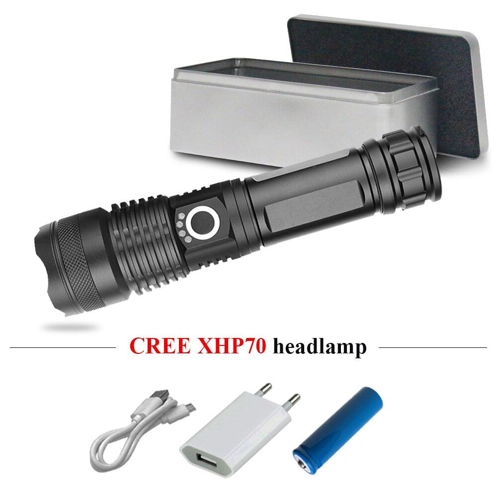 Led Flashlights Led Lighting Xhp50 Searchlight Hunting Usb Flashlight Rechargeable Zoomble Powerful Led Flashlight 18650 Or 26650 Led Lantern Lampe Torche Driving A Roaring Trade