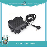 Z Tactical SELEX TACMIC CT5 Headphone Softair 6 Plug Airsoftsports Headset Accessories Kenwod Midland PTT For Baofeng Radio Z133