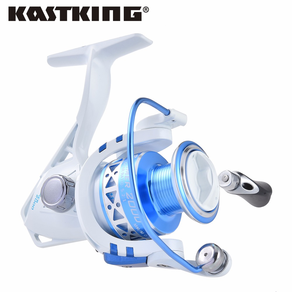 Kastking verano serie max 9 kg carrete que hace girar carrete de la pesca de la