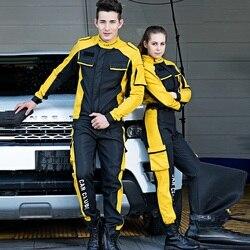 Winter fleece Work Clothing Men Women Working Coveralls Auto repair car Workers Uniforms Water proof Overalls Plus Size S-4XL