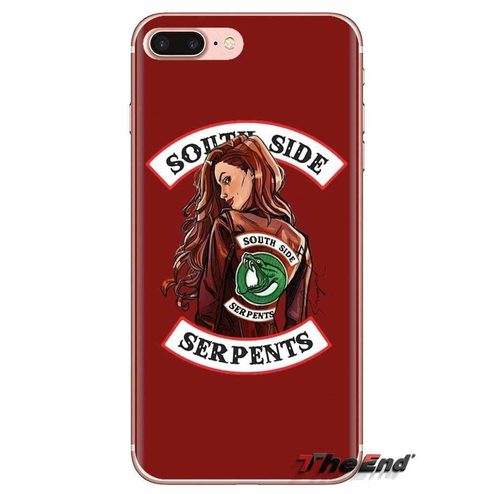 For Oneplus 3T 5T 6T Nokia 2 3 5 6 8 9 230 3310 2.1 3.1 5.1 7 Plus 2017 2018 tv riverdale cheryl blossom Transparent Soft Covers
