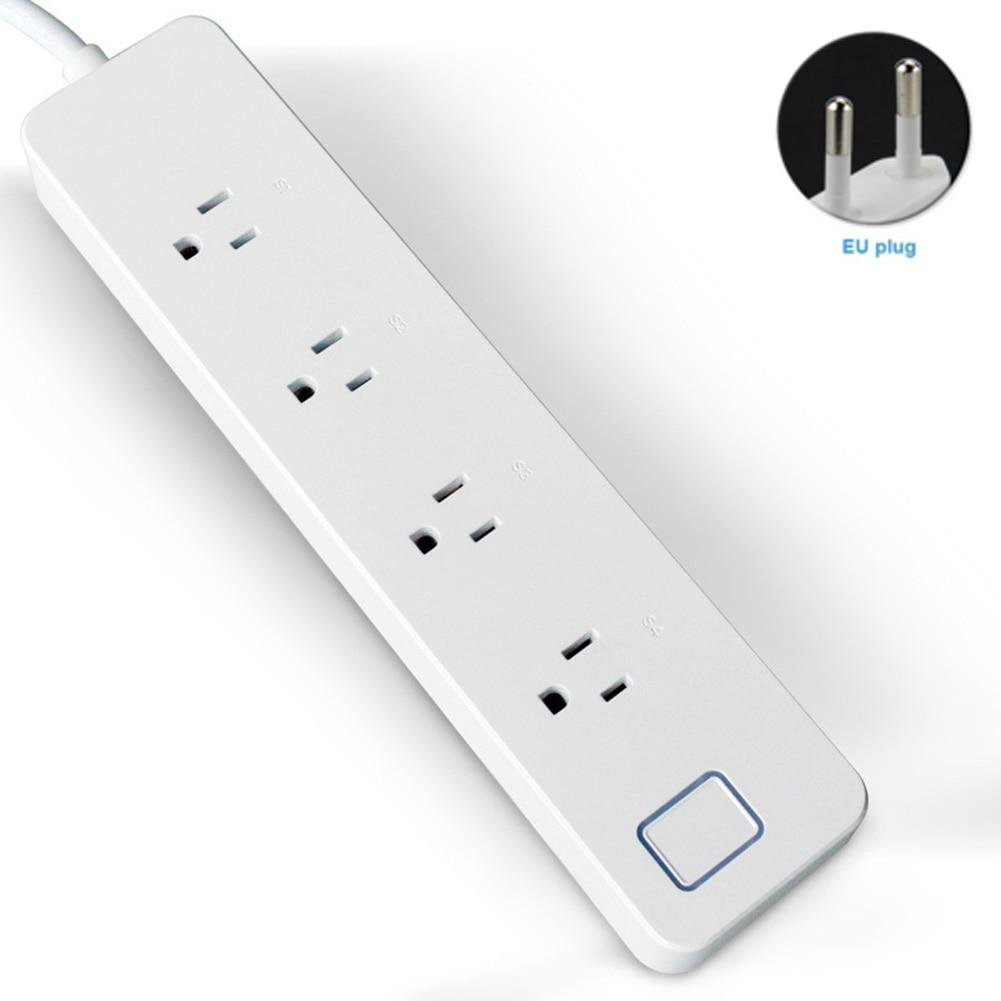 Extension Lead 4//6//8//10 Way 1 /& 2 Meter Extension Socket Multiple Plug In Socket