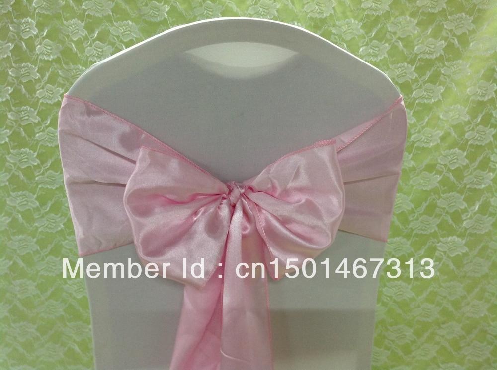 100pcs Satin Sashes ,Wedding Chair Sashes ,Satin Chair Sash&Satin Sash Bow For Wedding Events &Party Decoration