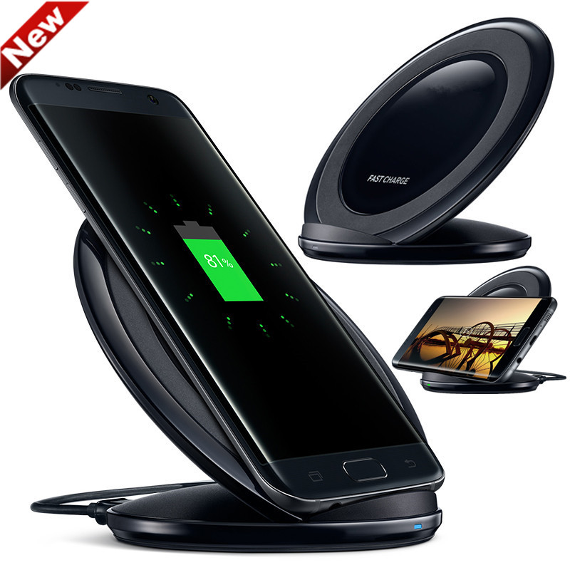 Original Qi cargador inalámbrico carga rápida EP-NG930 para Samsung Galaxy S7 iPhone8 más S6 S8 S8 más G955 S6edge n9200 G9200