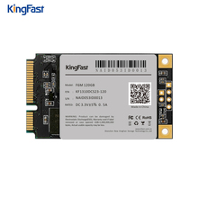 F6M Kingfast Msata ssd mini PC internal SATA II III MLC 120GB ssd mSATA Solid State