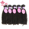 Queen Hair Malaysian Virgin Hair Extensions Kinky Curly Human Hair ,5pcs lot Hot Selling DHL Free Shipping