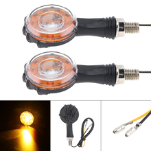 Universal Motorcycle Turn Signal 2pcs 12V Yellow Flashing ABS Energy Saving Indicating wholesale