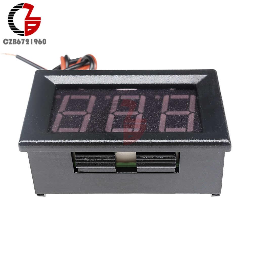 """DC 5V 12V 24V 0.56"""" LCD Digital Voltage Meter Voltmeter Battery Capacity Tester Detector for Electronic Mobile Power Bank"""