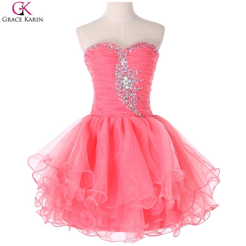 Magnífico Vestido Corto De Baile Inspiración - Colección de Vestidos ...