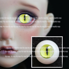 yellow east Bjd doll eyes Simulated cat eyeball for 1/3 1/4 1/6 bjd doll 14mm 16mm 18mm 20mm 22cm print Acrylic EYEs for dolls цена и фото