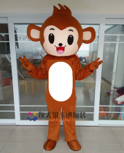 Monkey Mascot Costume Cosplay Party Fancy Dress Outfits Clothing Advertising Carnival Halloween Christmas Easter
