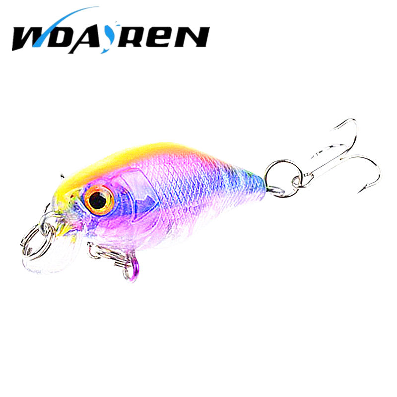 Hot Sell 4.5G 4.3CM Bass Fishing Lures Crank Bait Tackle Swim bait wobblers fishing japan Hard Crazy Fish Lure FA-313 1pcs lifelike 8 5g 9 5cm minow wobblers hard fishing tackle swim bait crank bait bass fishing lures 6 colors fishing tackle