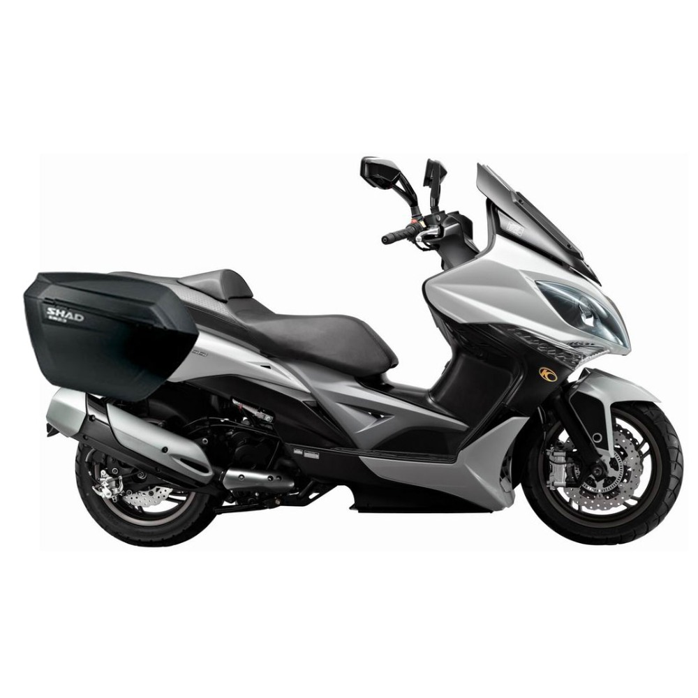 for KYMCO Xciting 400i SHAD SH23 Side Boxs+Rack Set Motorcycle Luggage Case Saddle Bags Brasket Carrier System кабель питания apc pwr cord 16a 100 230v c19 to c20