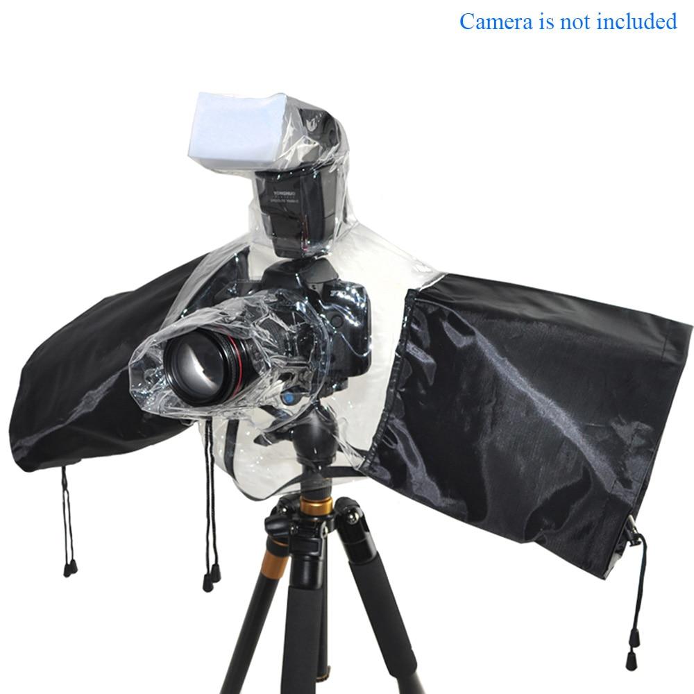 Camera Flash Protector Waterproof Rainproof Rain Dust Cover for Canon EOS Nikon Sony Pentax Olympus Fuji DSLR SLR