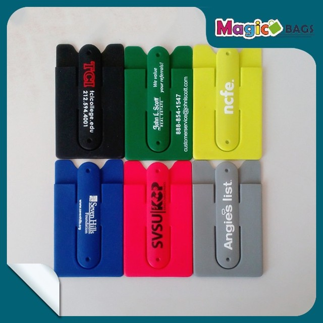 free shipping smart card holder low cost custom wholesale gift card holders soft silicone mobile phone - Gift Card Holders Wholesale