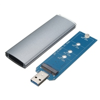 M 2 NGFF SSD SATA To USB 3 0 Converter Adapter Case External Enclosure Storage Case