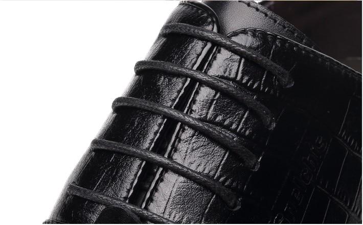 Ascenseur Classique Partie 10 Black Mariage Hommes Crocodile Invisible Surélévation Croissante Cuir De Noir Robe Véritable Cm En Chaussures UwHdqvC