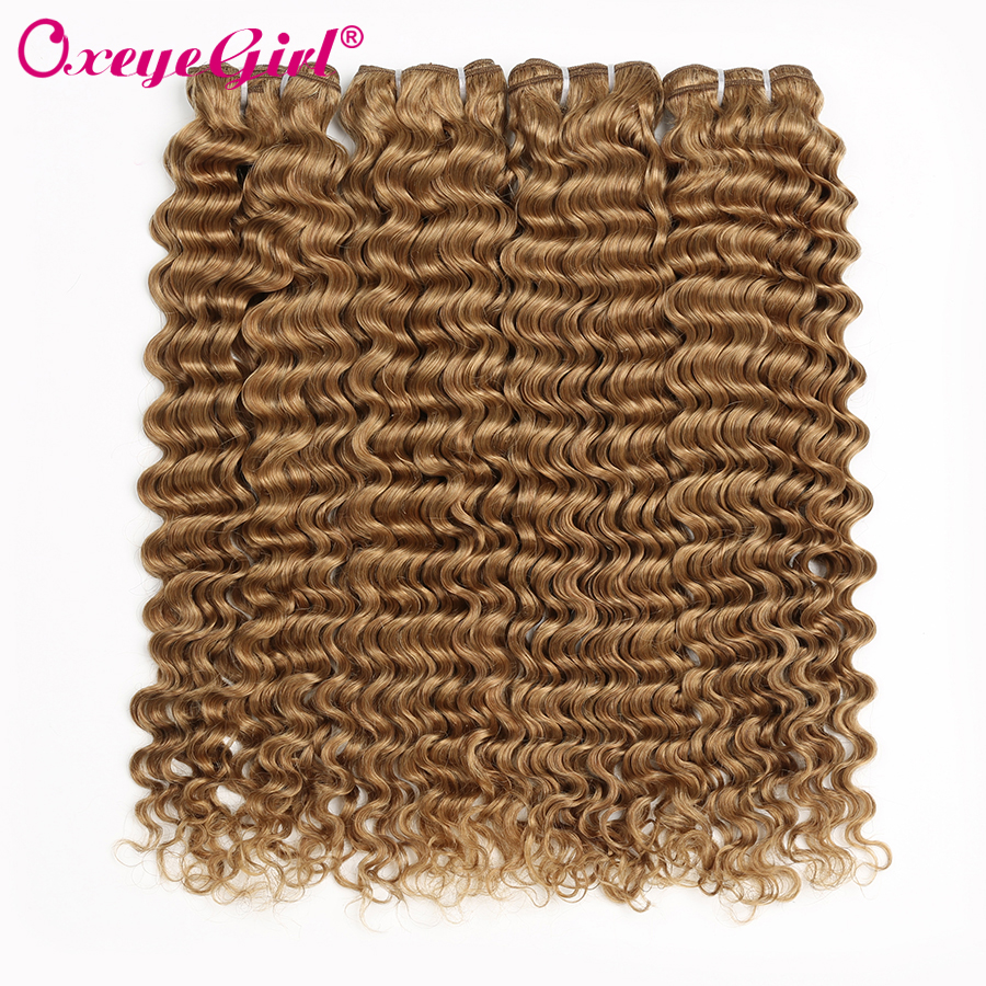 3/4 Bundles With Closure Gentle I Envy 3 Brazilian Honey Blonde Bundles With Closure Deep Wave Human Hair Bundles With Closure Colored Hair #30 Non Remy Weaves Goods Of Every Description Are Available